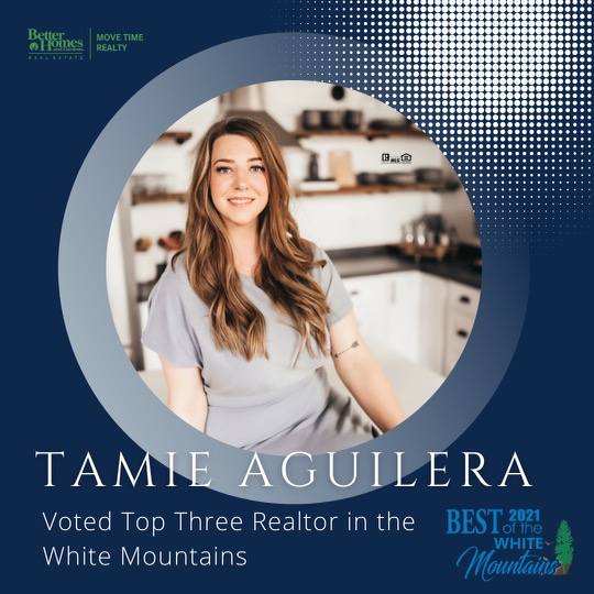 Tami Aguilera Voted top three realtor in the white mountains 2021